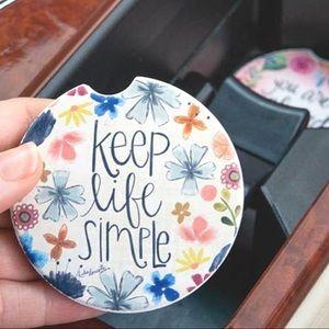 Handmade Car Coaster